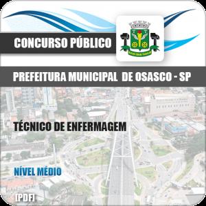 Apostila Pref Osasco SP 2019 Técnico de Enfermagem