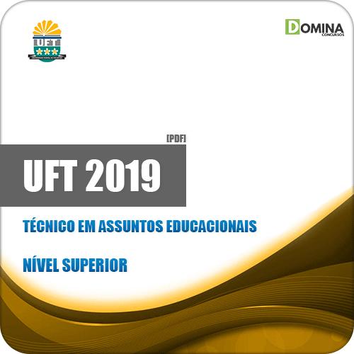 Apostila UFT 2019 Técnico em Assuntos Educacionais