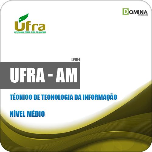 Apostila UFRA 2019 Técnico de Tecnologia da Informação