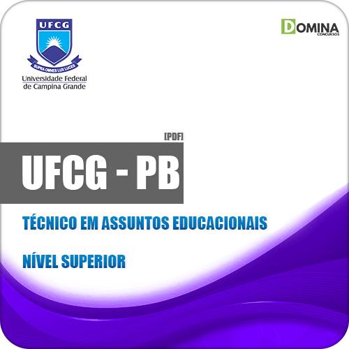 Apostila UFCG PB 2019 Técnico em Assuntos Educacionais