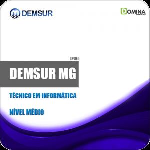 Apostila DEMSUR Muriaé MG 2019 Técnico em Informática