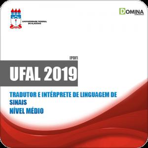Apostila UFAL 2019 Tradutor e Intérprete de Linguagem de Sinais