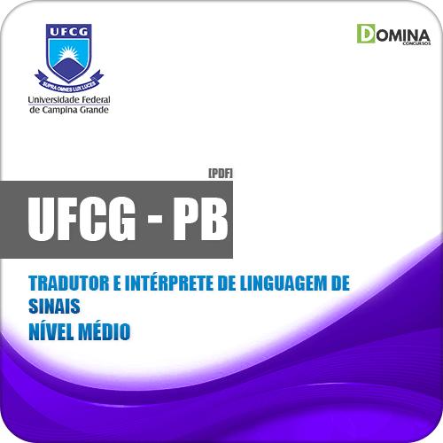 Apostila UFCG PB 2019 Tradutor e Intérprete de Linguagem de Sinais