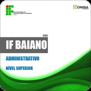 Apostila Concurso Pública IF Baiano BA 2019 Administrativo