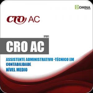 Apostila Concurso Público CRO AC 2019 Técnico em Contabilidade