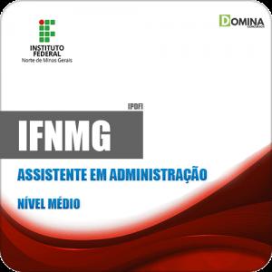Apostila Concurso IFNMG 2019 Assistente em Administração