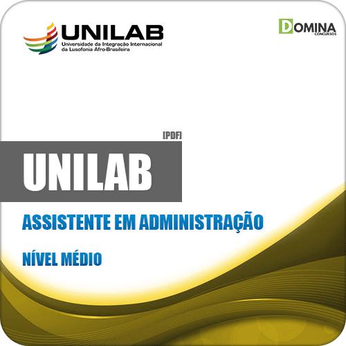 Apostila Concurso UNILAB 2019 Assistente em Administração