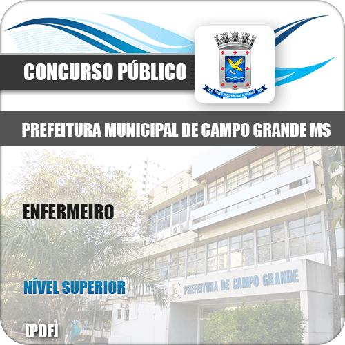 Apostila Concurso Pref Campo Grande MS 2019 Enfermeiro