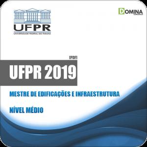 Apostila UFPR 2019 Mestre de Edificações e Infraestrutura