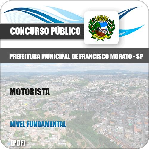 Apostila Pref Francisco Morato SP 2019 Motorista
