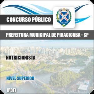Apostila Concurso Pref Piracicaba SP 2019 Nutricionista