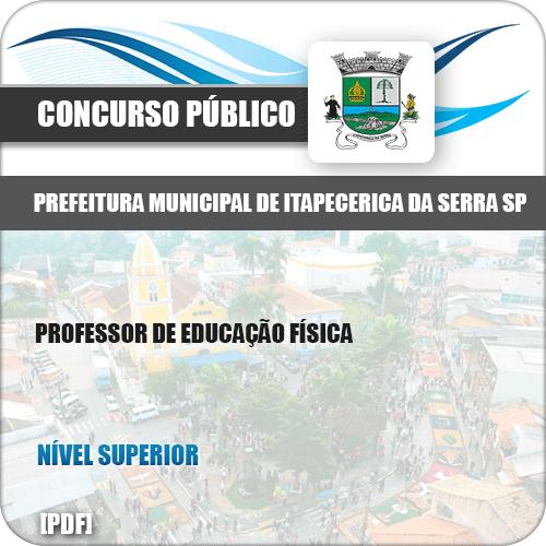 Apostila Pref Itapecerica Serra SP 2019 Prof Educação Física