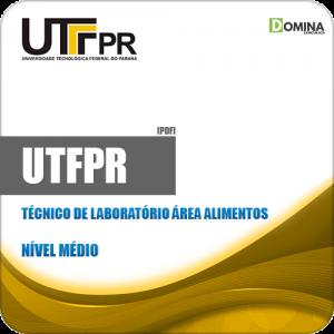 Apostila UFTPR 2019 Técnico de Laboratório Área Alimentos