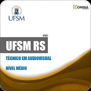 Apostila Concurso UFSM RS 2019 Técnico em Audiovisual
