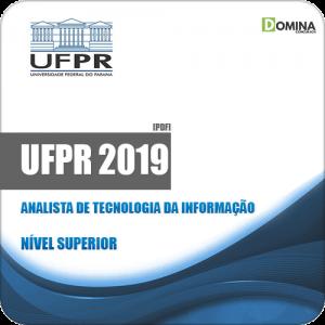 Apostila UFPR 2019 Analista de Tecnologia da Informação