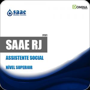 Apostila SAAE de Barra Mansa RJ 2019 Assistente Social