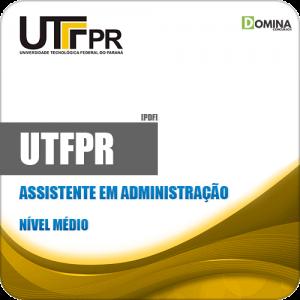 Apostila Concurso UFTPR 2019 Assistente em Administração