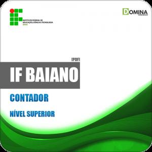 Apostila Concurso Público IF Baiano BA 2019 Contador