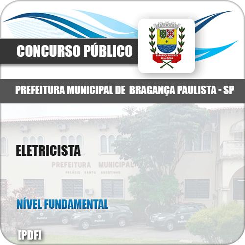 Apostila Concurso Pref Bragança Paulista SP 2019 Eletricista