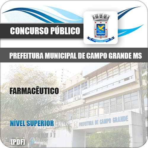 Apostila Concurso Pref Campo Grande MS 2019 Farmacêutico