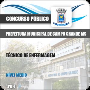 Apostila Pref Campo Grande MS 2019 Técnico de Enfermagem