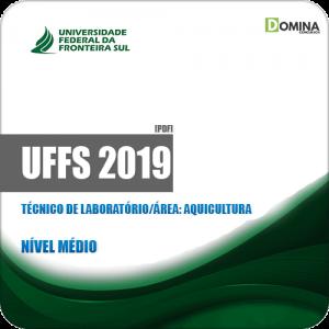 Apostila UFFS 2019 Técnico de Laboratório Área Aquicultura