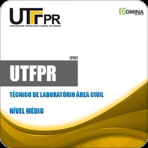 Apostila UFTPR 2019 Técnico de Laboratório Área Civil