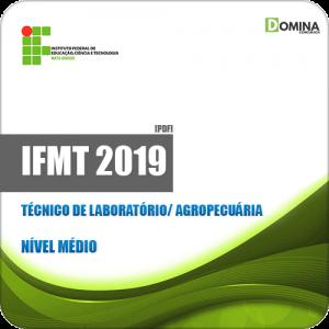 Apostila Concurso IFMT 2019 Técnico de Laboratório Agropecuária