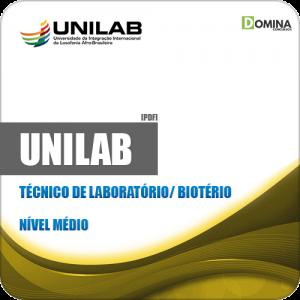 Apostila Concurso UNILAB 2019 Técnico de Laboratório Biotério