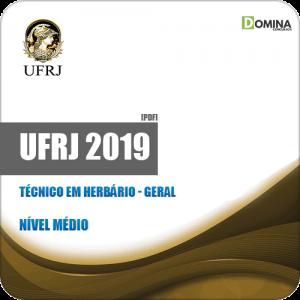 Apostila Concurso UFRJ 2019 Técnico em Herbário Geral