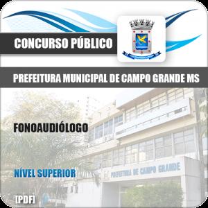 Apostila Concurso Pref Campo Grande MS 2019 Fonoaudiólogo