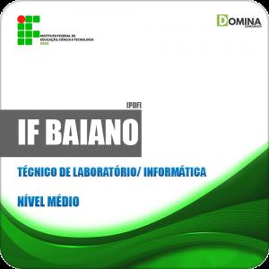 Apostila IF Baiano BA 2019 Técnico de Laboratório Informática