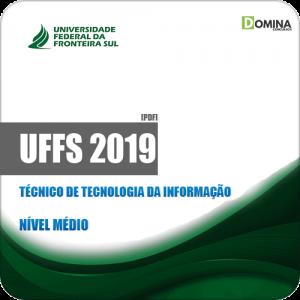 Apostila UFFS 2019 Técnico de Tecnologia da Informação