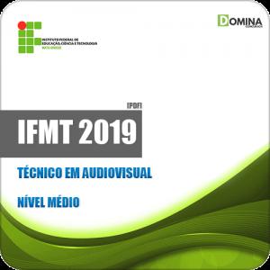 Apostila Concurso Público IFMT 2019 Técnico em Audiovisual