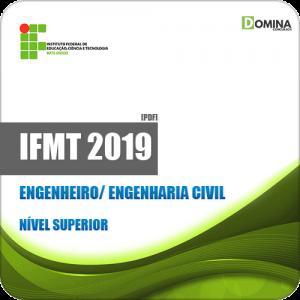 Apostila Concurso IFMT 2019 Engenheiro Engenharia Civil