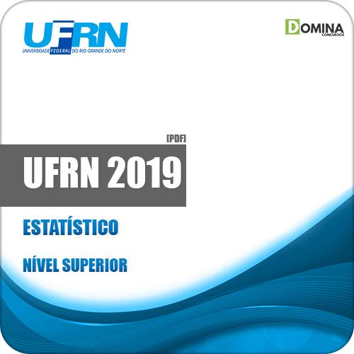 Apostila Concurso Público UFRN 2019 Estatístico
