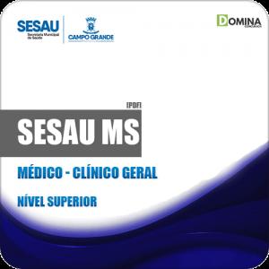 Apostila Concurso Público SESAU MS 2019 Médico Clínico Geral