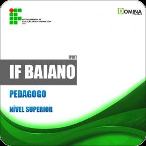 Apostila Concurso Público IF Baiano BA 2019 Pedagogo