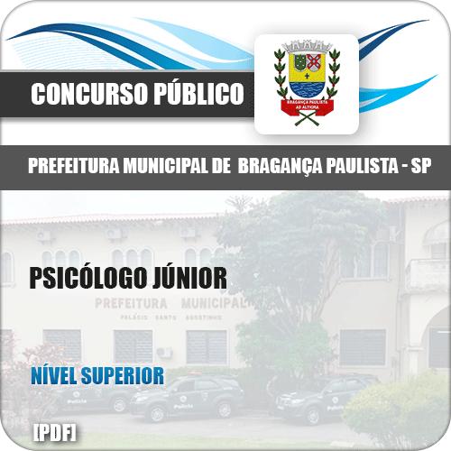 Apostila Pref Bragança Paulista SP 2019 Psicólogo Júnior