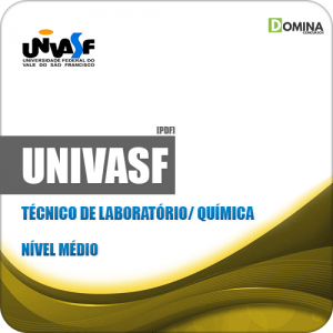 Apostila UNIVASF 2019 Técnico de Laboratório Química