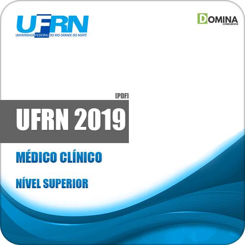 Apostila Concurso Público UFRN 2019 Médico Clínico