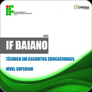 Apostila IF Baiano BA 2019 Técnico em Assuntos Educacionais