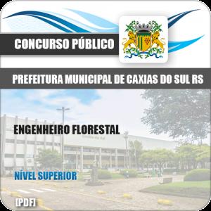 Apostila Pref Caixas do Sul RS 2019 Engenheiro Florestal