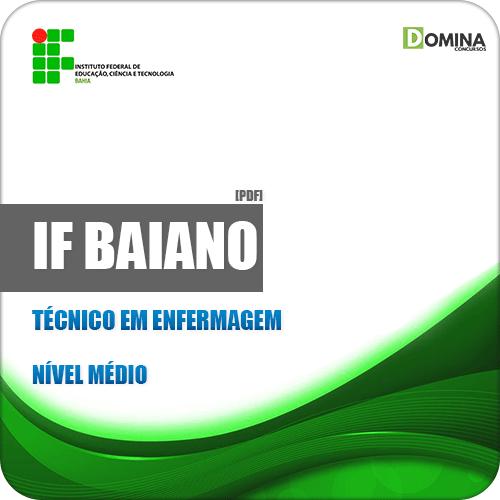 Apostila Concurso IF Baiano BA 2019 Técnico em Enfermagem