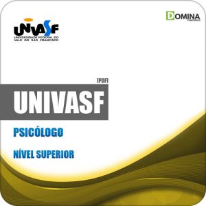 Apostila Concurso Público UNIVASF 2019 Psicólogo