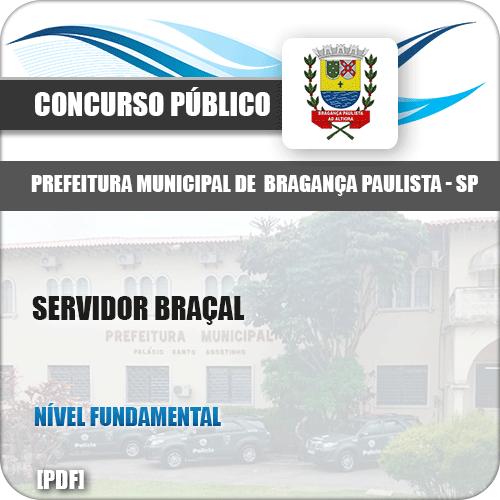 Apostila Concurso Pref Bragança Paulista SP 2019 Servidor Braçal