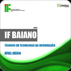 Apostila IF Baiano BA 2019 Técnico em Tecnologia da Informação