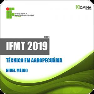 Apostila Concurso IFMT 2019 Técnico em Agropecuária