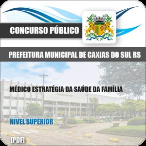 Apostila Pref Caixas do Sul RS 2019 Médico Saúde da Família