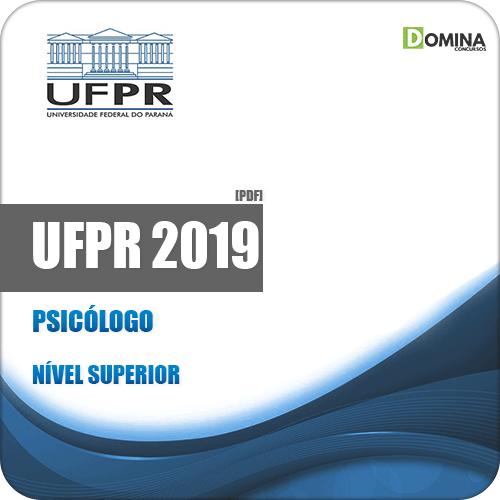 Apostila Concurso Público UFPR 2019 Psicólogo
